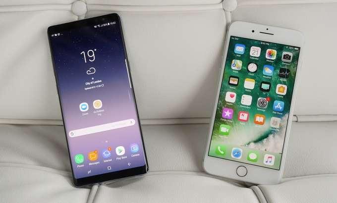 iPhone'даги маълумотларни Galaxy Note 8'га осон кўчиришни Samsung кўрсатиб берди