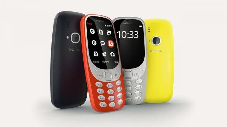Сентябрда Nokia 3310'нинг янги талқини сотувга чиқади