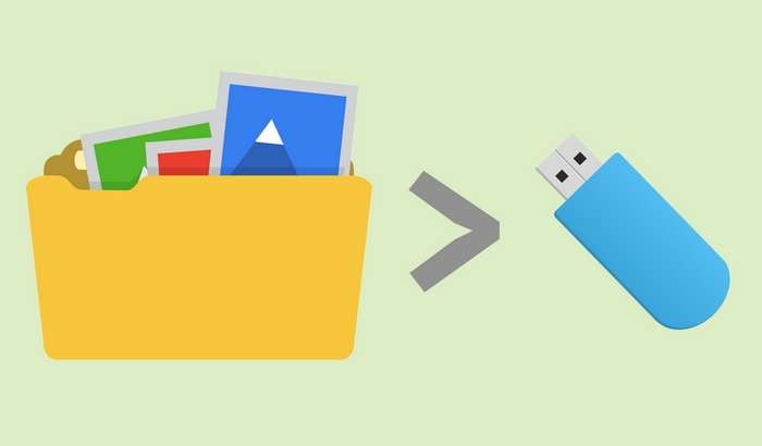 «Файл слишком велик»: агар файл флешкага кўчмаса нима қиламиз?
