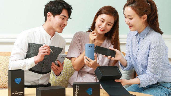 Кореяда Galaxy Note 7 савдоси ниҳоясига етди: фаблет тарихда қолди
