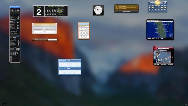 Mac тезкор хотирасини тозалаш учун Dashboard'ни узиб қўямиз