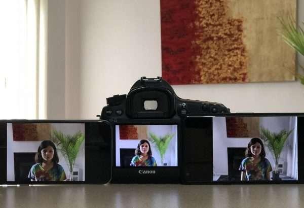 Бир манзарани Canon 5D Mark III, Google Pixel 2 XL ва iPhone X бир вақтда суратга олиб кўрди