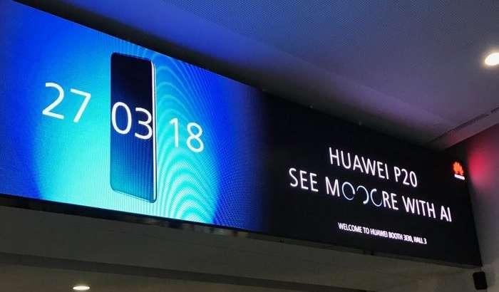 Уч модулли камерага ва «ўйиқ»ли экранга эга Huawei P20 илк расмий реклама постерида кўрсатилди