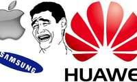 Huawei бирйўла Samsung ва Apple'ни масхаралади