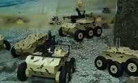 VIDEO: Eron armiyasi o'z jangovar robotlari bilan maqtanmoqda