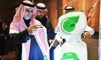 ИЛК БОР: Саудияда одамсимон робот давлат ташкилотига расман ишга олинди! (+видео)