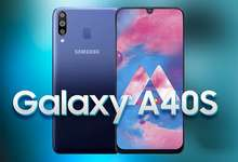 Galaxy A40s ҳам намойиш этилди: 6,4 дюймлик, «бели бақувват» смартфон!