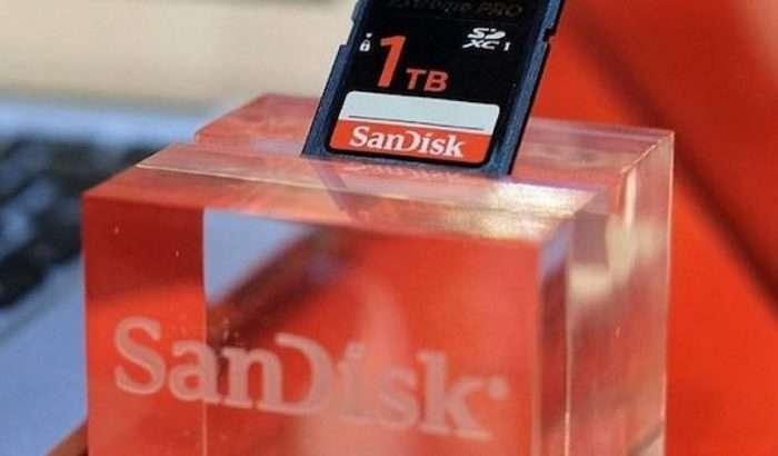IFA 2019: SanDisk тақдим этган 1 терабайтлик SD-карта ҳатто iPhone'дан ҳам қиммат!