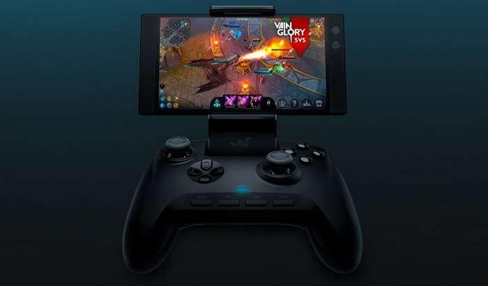 Razer ҳар қандай Android-смартфонга тушадиган профессионал геймпад тақдим этди
