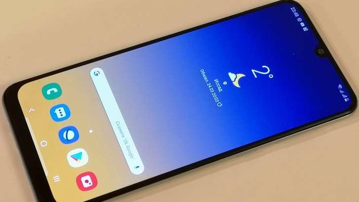 Samsung Galaxy A50 тавсифи: ютуқлари ва камчиликлари