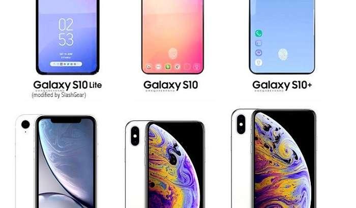 Galaxy S10 линейкаси iPhone XS, XS Max ва XR моделлар қаторидан нусха олган