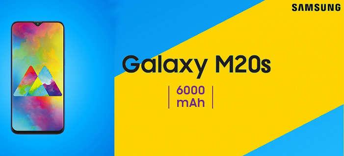 Samsung Galaxy M20s'нинг 6000 мА/соатлик аккумулятори