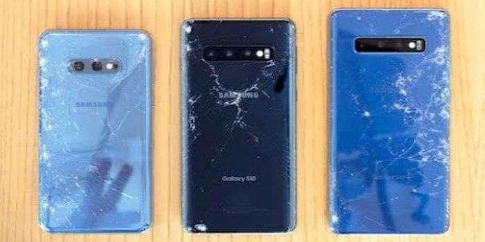 «ЖОНЛИ» ВИДЕО: Учта моделдаги Galaxy S10'ларни дроп-тестда iPhone XS Max билан таққослашди