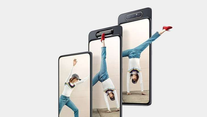 Terashop.uz'да барча Samsung смартфонлари арзонлашди, айланувчи камерали A80 келди (2019 йил 8 август)