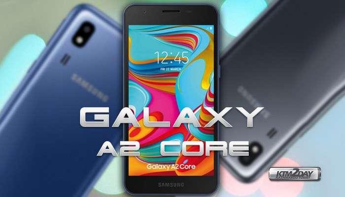 Galaxy A2 Core ҳақида янги маълумотлар: нисбатан кучли процессор, Android Pie ва аниқ нархи!