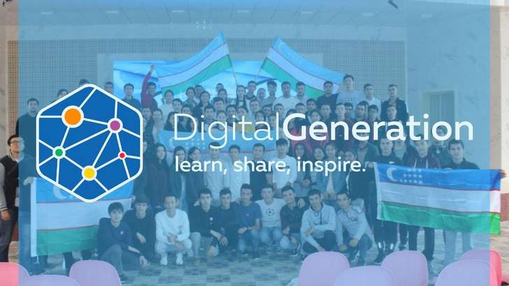 """Digital Generation Uzbekistan"" лойиҳаси доирасида иштирокчилар ўз роботларини яратишди"