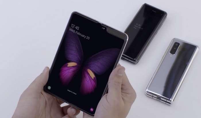 Galaxy Fold буклама смартфонини Samsung муддатидан аввал ва негадир яширин сота бошлади!