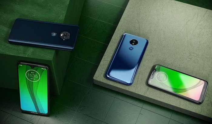 «Тўртта G»: Motorola атиги 199 доллардан бошланувчи Moto G7 смартфонларини тақдим этди