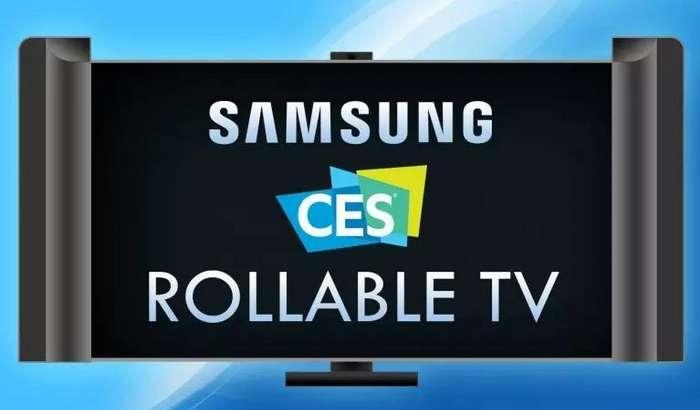 CES 2019 кўргазмасида Samsung ҳам ўрама телевизор тақдим этмоқчи