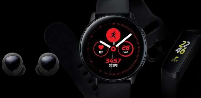 Galaxy Watch Active, Galaxy Fit ва Galaxy Buds'ни Samsung тақдимотдан аввал «сотиб» қўйди