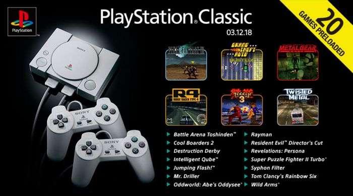 25 йиллик ностальгия: Sony қайта чиқарилган PlayStation Classic'ни 100 доллардан сота бошлади!