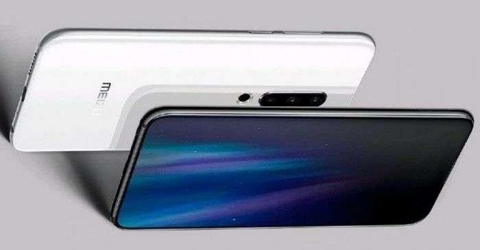 Meizu 16S флагманининг сурати эълон қилинди: уч модулли камера ва... «тирқиш»ли экран!