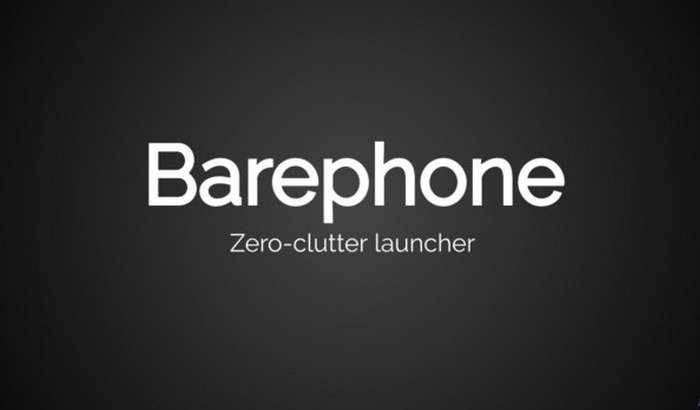 Barephone – Android-смартфонлар учун минималистик услубдаги бепул лаунчер