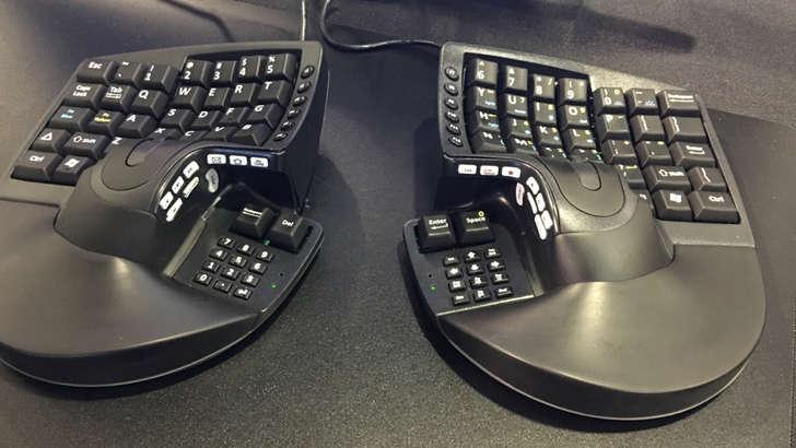 Танишинг: гибрид клавиатура ёки сичқонча(фото)
