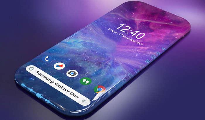 Galaxy One – har tomonlama «sharshara» ekranli ilk smartfon!