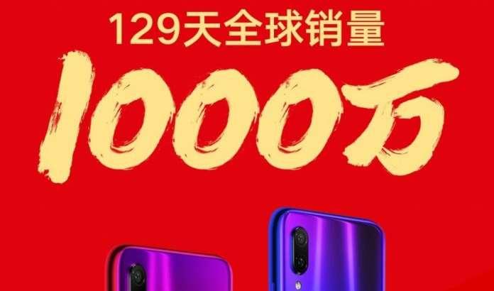 Xiaomi'нинг Redmi Note 7 смартфонлари 129 кун ичида 10 миллионлик довонни забт этди!
