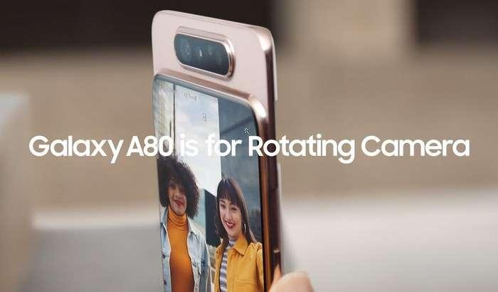 Galaxy A80 айланма камераси сирини ва синов жараёнларини Samsung видеода кўрсатиб берди