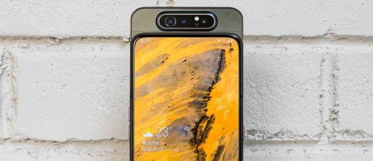 Қарши олинг: шов-шувли Samsung Galaxy A80 смартфони (+расм ва видео)!