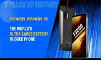 Ulefone Power Armor 13 – рекорд аккумуляторли «ўлдириб бўлмас» смартфон! (+видео)