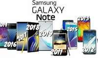 Видеоблогер барча авлод Galaxy Note смартфонларини, уларнинг камералари ва нархларини таққослаб кўрсатди