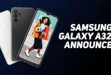 Galaxy A32 намойиш қилинди: Samsung'нинг энг арзон 5G-смартфони!