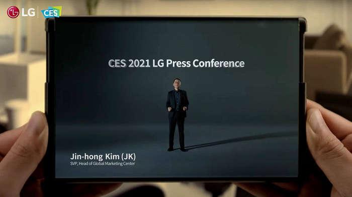 LG шу йилиёқ сотувга чиқувчи, ўрама экранли Rollable смартфонини видеода кўрсатди!