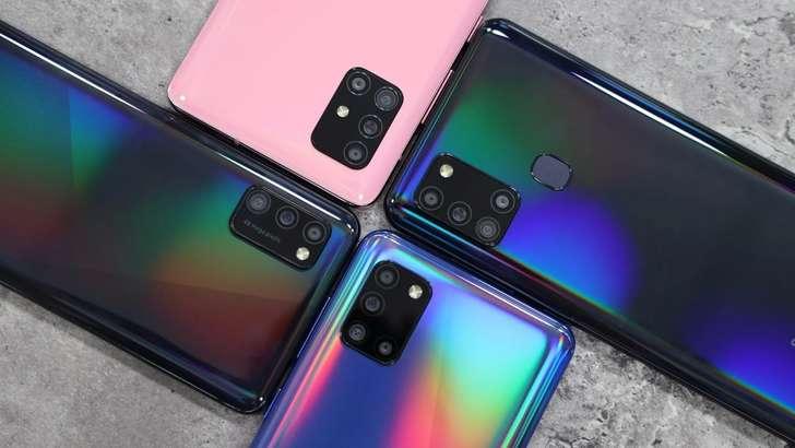 Samsung Galaxy смартфонлари нархлари билан танишамиз (2021 йил, февраль)