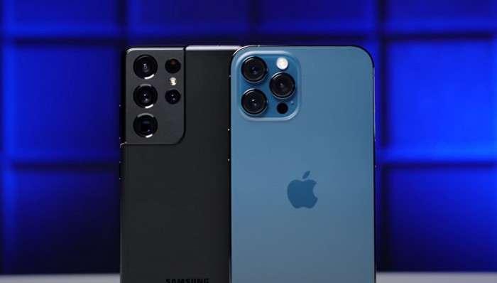 3687 мАс батареяли Phone 12 Pro Max автономлиги юқорими, ёки 5000 мАс аккумуляторли Galaxy S21 Ultra? («Жонли» тест видеоси)