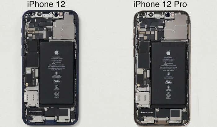 iPhone 12 ҳамда 12 Pro ичини очиб кўришди – деярли фарқи йўқ экан! (видео)