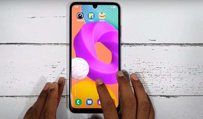 200 долларлик Samsung Galaxy F22 биринчи анбоксинг видеода!