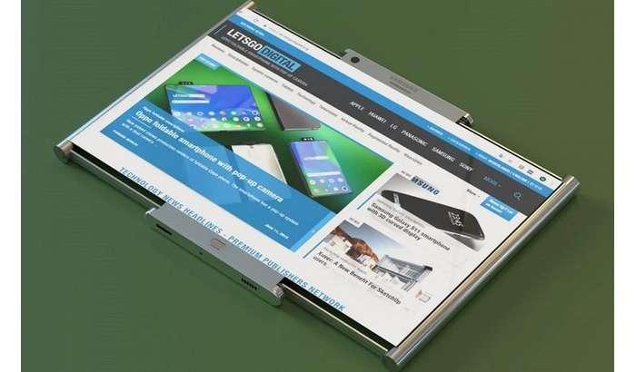 Samsung ўрама экранли смартфонини биринчи бор «жонли» кўрсатди!