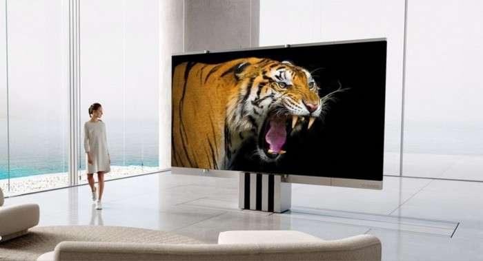 Жаҳондаги илк «гармошка» телевизор тақдим этилди – нақ 400 минг доллар! (видео)