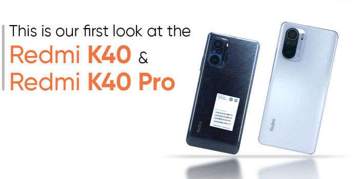 Скриншотлар Redmi K40 ҳамда Redmi K40 Pro'нинг асосий жиҳатларини фош этди