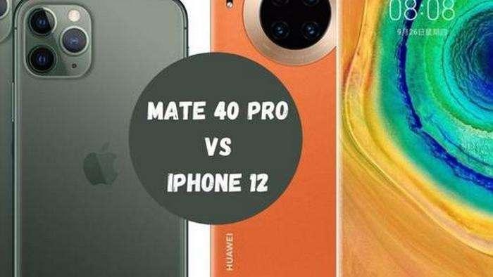Ҳали чиқмаган iPhone 12 ҳамда Huawei Mate 40 Pro флагманларини ишлаётган ҳолида «жонли» кўрамиз!