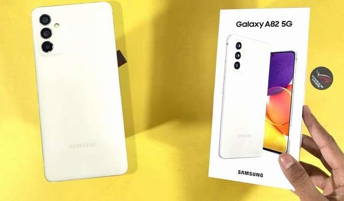 Samsung'нинг энг ошкор сири: инсайдерлар аллақачон Galaxy A82 5G расмий видеосини ҳам тарқатишди!