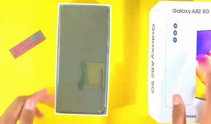 Samsung чиқариб улгурмаган Galaxy A82 илк анбоксинг видеода!