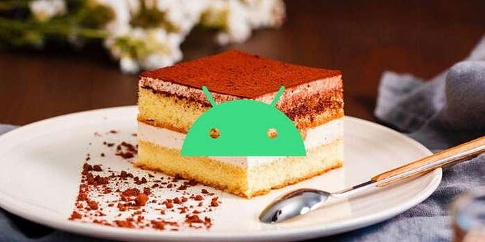 Google аллақачон Android 13'нинг «ширин» номини фош этди (+барчасининг рўйхати)