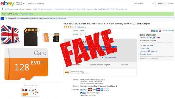 Қалбаки microSD картани қандай аниқлаш мумкин?