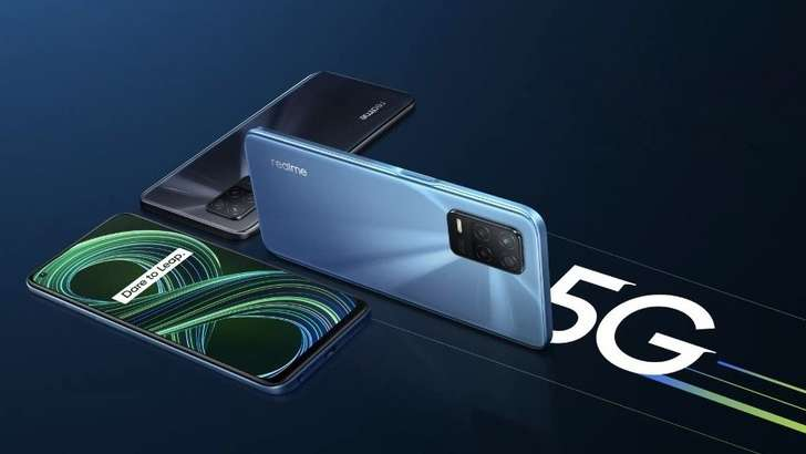 Dimensity 700 чипи, 90Hz LCD экранга эга realme 8 5G смартфони тақдим қилинди