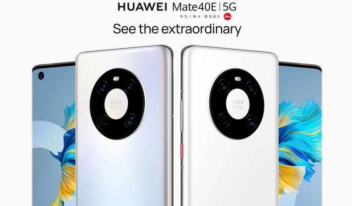 Huawei Mate 40E 5G чиқди: 90 герцлик дисплей, 64 МПлик камера